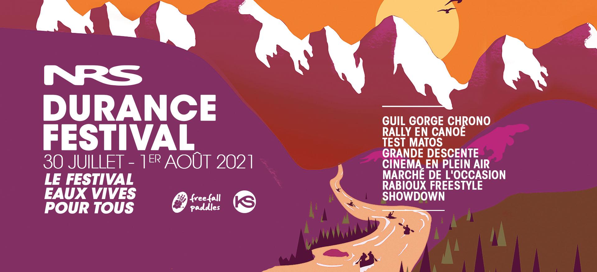 Le Durance Festival, le festival eaux vives pour tous organisé par kayak session magazine.